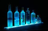 明確なアクリルビール表示LED表示びんの陳列台