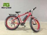 Bici elettrica grassa della gomma En15194 del motore 250W di Bafang dell'azionamento della montagna della spiaggia METÀ DI