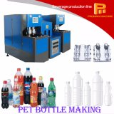 Semi-automatique Type 2 Cavity Two Blowers Pet Bottle Making Machine