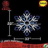 Indicatore luminoso di natale d'attaccatura impermeabile decorativo del fiocco di neve IP65 del LED per la decorazione di festa