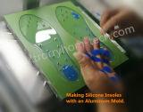 Silicone della cura dell'aggiunta per la fabbricazione dei sottopiedi del silicone