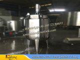 el tanque de mezcla inferior cónico del acero inoxidable 500L con el mezclador 36rpm del raspador