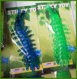 Brinquedos pegajosos do impulso do estiramento de Funy do lagarto no personalizado