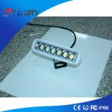 6 luz del trabajo de los proyectores 18W LED de la pulgada para el accesorio auto