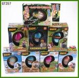 Magische wachsende Großhandelsspielwaren, die Dinosaurier-Ei-Spielzeug-wachsende Pinguin-Eier ausbrüten