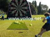 Dards gonflables du football du football de Velcro avec des billes