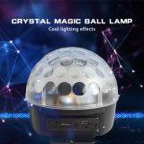 Mini luzes ativadas som do disco da esfera de cristal do diodo emissor de luz