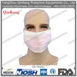 Máscara protetora não tecida descartável de máscara de poeira com Orelha-Laço/laço