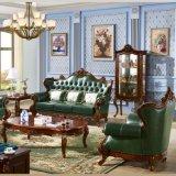 Wohnzimmer-ledernes Sofa für Hauptmöbel