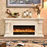 La chimenea eléctrica del calentador moderno del soporte de la TV con Ce aprobó (336S)