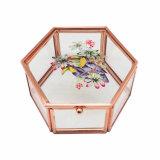 De lujo hecho a mano colgantes nuevo estilo de cristal caja de almacenamiento