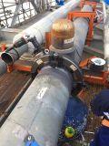 El corte eléctrico y tubería hidráulica y máquina de biselado