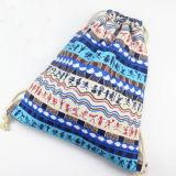 昇進の女性のボヘミアの民族のバックパックのドローストリング袋