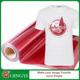 Prix d'usine de Qingyi le meilleur et la qualité grande du transfert de vinyle de la chaleur de scintillement pour le vêtement