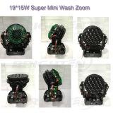 Mini indicatore luminoso eccellente della fase della lavata di 19*15W LED con lo zoom (BR-1915P)