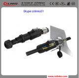 Feito no plugue masculino do género do Pin do conetor 2 do chicote de fios do fio do IP 65 de China para o equipamento de potência