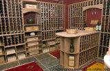 Bodega de encargo elegante magnífica para el hogar de madera de los muebles decorativo
