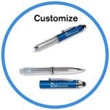 Logotipo de impresión barata Promoción Touch Pen con LED