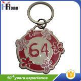 Porte-clés en métal pour anniversaire