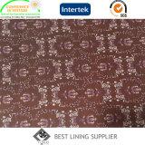 Tissu de garniture de doublure estampé par polyester pour la couche de l'hiver des hommes