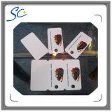打つことのUnstandardの形PVCカード
