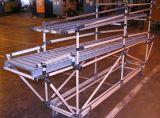 Zwei Rohr-Link-justierbare Winkel-Metallverbindung