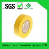 """Fixer la bande électrique normale de PVC des serres-câble Et-75066st-Yw, -18 à 105 degrés C, 66 ' longueurs, 3/4 """" largeur, jaune"""