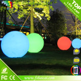 방수 LED 가벼운 공을 바꾸는 PE 물자 16 색깔