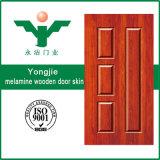 Piel de oro de la puerta de la melamina de China para la decoración casera