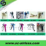 Профессиональная электрическая безвоздушная пушка брызга Sc-G04 краски