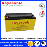 Das baterias marinhas profundas da bateria 12V do ciclo do gel baterias 12V recarregáveis