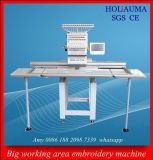 Máquina principal del bordado de la camiseta de la ropa del casquillo plano de la talla grande de Holiauma la sola tiene gusto del sistema de Tajiama