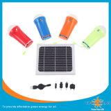 Luzes solares com 3W o diodo emissor de luz, tocha solar, lanterna elétrica solar