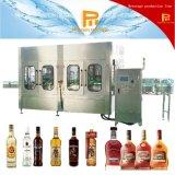 Remplissage de rhum de bouteille en verre et machine à emballer automatiques
