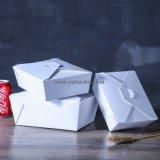 O tamanho pequeno leva embora a caixa do empacotamento de alimento