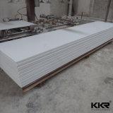 superficie di pietra artificiale bianca del solido di 6mm Corian