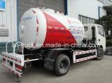 Caminhão de petroleiro do tanque de gás 2.3t de Dongfeng 4X2 5.5cbm LPG