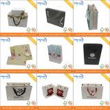 Bolso de empaquetado del regalo de papel de encargo de lujo con la maneta (AZ-121719)