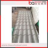 Folhas galvanizadas onduladas revestidas de pouco peso do telhado do zinco do PVC