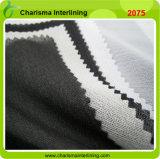 100 Polyester Fusible Tricot Warp Tricoté tissé Interlining