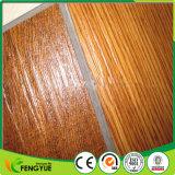 Pavimentazione dell'interno commerciale del vinile del grano di scatto di legno giallo del PVC