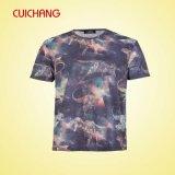 T-shirt estampé par T-shirt estampé fait sur commande de coton