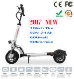 2017最も新しい400watt 48Vの小型電気オートバイのスクーター