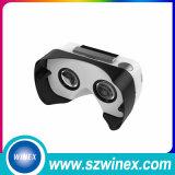 Vidrios de encargo de la cartulina V2 3D Vr de Google de la impresión de la insignia del más nuevo modelo