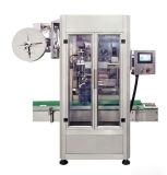 Máquina de etiquetado cada vez más pequeña caliente de la funda automática de la botella redonda