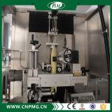 Máquina de etiquetas da luva do Shrink para o frasco quadrado