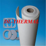 Papel de fibra de cerámica usado en la función eléctrica del aislante y del filtro del alto lacre