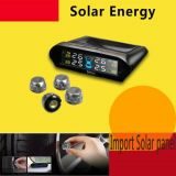Système de contrôle à énergie solaire de pression de pneu pour le véhicule