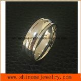 High-End van de Juwelen van Shineme de Ring van de Vinger van de Rotatie van het Staal van Stailness (SRS8818)