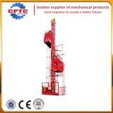 Elevación del elevador de la construcción, levantador del material de construcción
